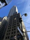 byggnadschrysler stad New York Royaltyfri Fotografi