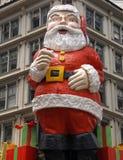 byggnadsclaus jätte santa Royaltyfria Bilder