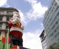 byggnadsclaus jätte santa Fotografering för Bildbyråer
