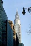 byggnadscrysler New York Arkivfoton