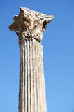Byggnadsdetalj i Ephesus (Efes) Arkivfoton