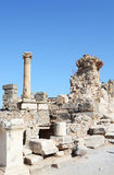 Byggnadsdetalj i Ephesus (Efes) Arkivfoto