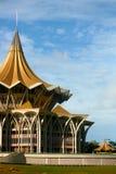 byggnadsdun som kuching sarawak Arkivfoton