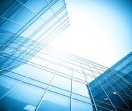 byggnadsexponeringsglas Royaltyfri Fotografi