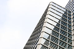 byggnadsexponeringsglaskontor Royaltyfri Bild