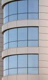 byggnadsexponeringsglaskontor Arkivfoto
