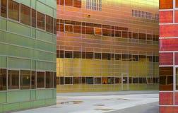byggnadsexponeringsglaskontor Arkivbild