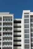 Byggnadsfönster Arkivbild