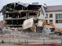 byggnadsfabrik av rivet Royaltyfria Foton