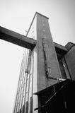 byggnadsfabriksmjöl som malande industriellt gammalt Arkivfoton