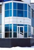 byggnadsfacade av kontor Arkivbild