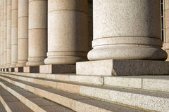 byggnadsfinland helsinki parlament Arkivbilder
