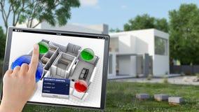 Byggnadsfjärrkontroll Arkivfoton
