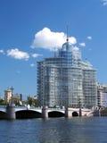 byggnadsflod Arkivfoto