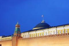 byggnadsfragment kremlin moscow Fotografering för Bildbyråer