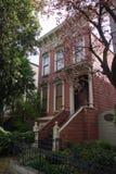 byggnadsfrancisco bostadssan victorian Arkivfoto