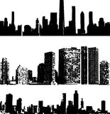 byggnadsgrungestil Arkivbild