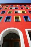 byggnadsingång arkivbilder