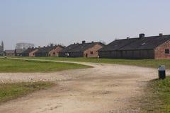 Birkenau läger Arkivbilder