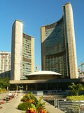 byggnadsKanada stadshus toronto Arkivfoto