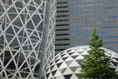 byggnadskontor tokyo Arkivbild