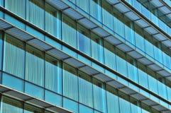 byggnadskontorsfönster Royaltyfri Fotografi