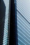 byggnadskontorsfönster Arkivbilder
