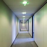 Byggnadskorridor Fotografering för Bildbyråer