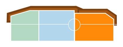 byggnadslogo vektor illustrationer