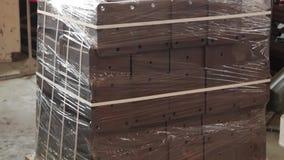Byggnadsmaterial och last arkivfilmer