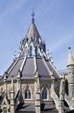 byggnadsottawa parlament Arkivbild