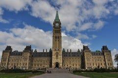 byggnadsottawa parlament Arkivbilder