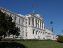 byggnadsparlamentportugis Arkivbild