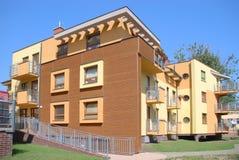 byggnadspoland bostadswroclaw Royaltyfri Bild