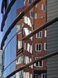 byggnadsreflexion arkivbild
