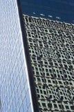 Byggnadsreflexion royaltyfri bild