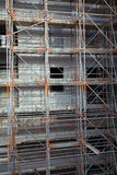 Byggnadssäkerhet med en fast ställning Arkivbilder