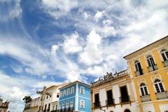 byggnadsSalvador Royaltyfri Fotografi