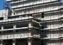 byggnadsscaffold Royaltyfri Bild