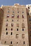byggnadsshibam yemen royaltyfria bilder