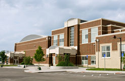 byggnadsskola royaltyfri bild