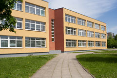 byggnadsskola Royaltyfria Foton