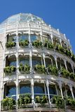 byggnadsskyltfönster Royaltyfri Bild
