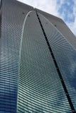 Byggnadsskyskrapaexponeringsglas arkivfoton