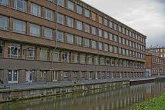 byggnadsstad industriella ghent Royaltyfri Fotografi