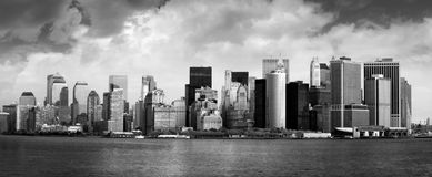 byggnadsstad New York Royaltyfri Foto