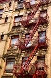 byggnadsstad New York Royaltyfri Fotografi
