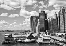 byggnadsstad New York Fotografering för Bildbyråer