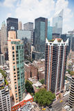 byggnadsstad New York Royaltyfria Bilder