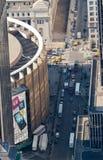 byggnadsstadsträdgård madison nya fyrkantiga york Arkivfoton